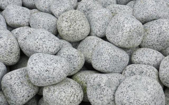 Grey Granite Cobbles